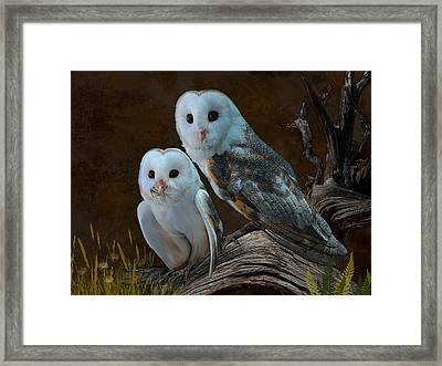 Stand By Me Framed Print