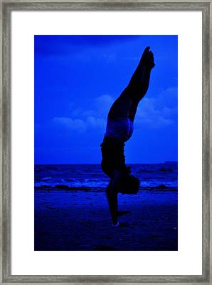 Stand By The Sea Framed Print by Trudi Southerland