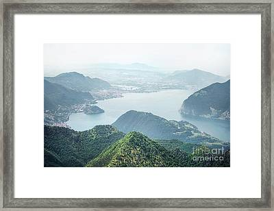 Stand In Awe Framed Print