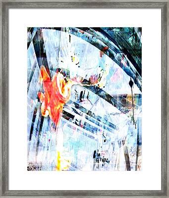 Stand Framed Print by Ken Walker