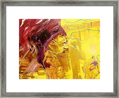 Stand Next To My Fire Framed Print