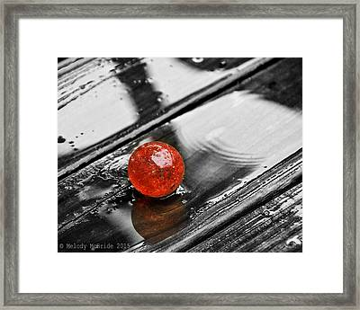 Stand Out Framed Print by Melody McBride
