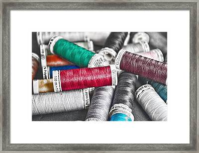 Stand Out Red Framed Print