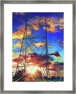 Stand Tall Framed Print by Bonnie Lambert