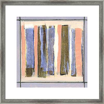 Stand Up 1 Framed Print by Jean Beal