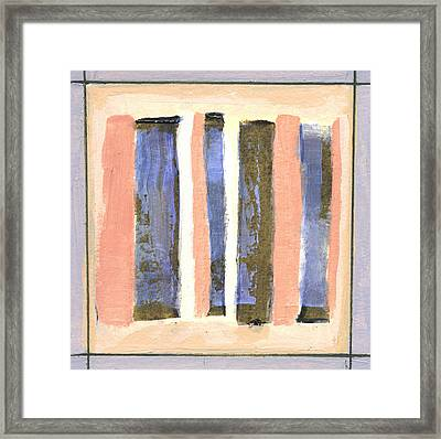 Stand Up 2 Framed Print by Jean Beal