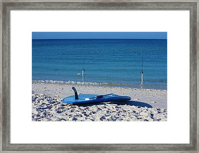 Stand Up Paddle Board Framed Print