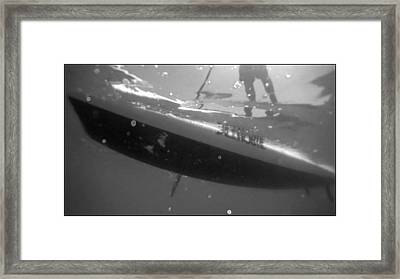 Stand Up Paddle Boarding Framed Print by Brad Scott