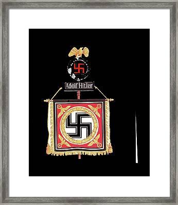 Standard Of The Leibstandarte Adolf Hitler Circa 1935  Framed Print