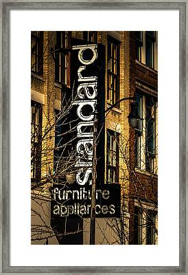Standard Framed Print by Phillip Burrow