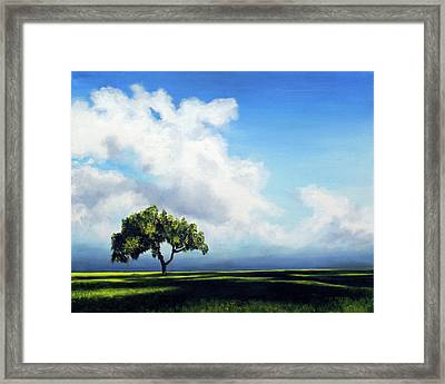 Standing Alone Framed Print by Marina Petro