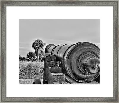 Standing Ground Framed Print