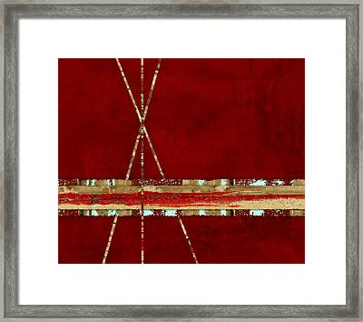 Standing Ground Framed Print by Carol Leigh