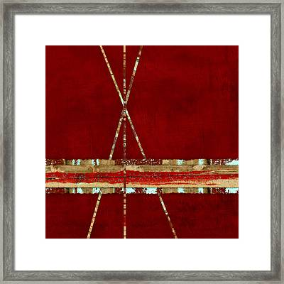 Standing Ground Square Format Framed Print by Carol Leigh