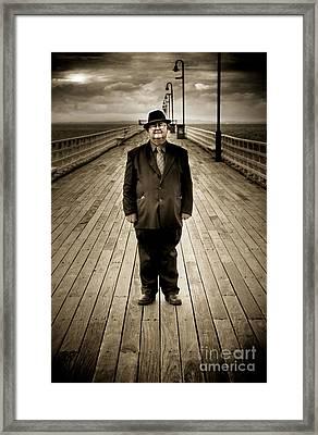 Standing In Solitude Framed Print