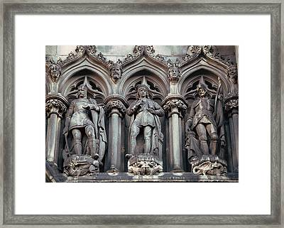 Framed Print featuring the photograph Standing In Stone by Kenneth Campbell