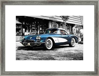 Standing Out Framed Print by Peter Chilelli