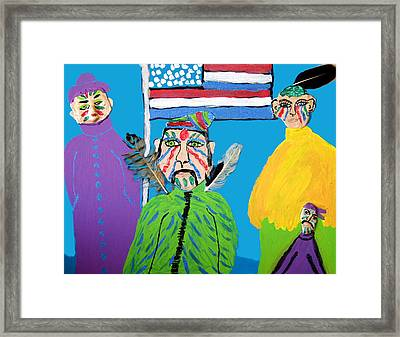 Standing Proud Framed Print by Betty  Roberts