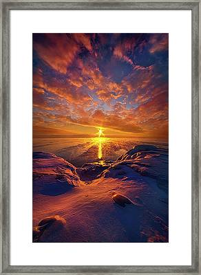 Framed Print featuring the photograph Standing Stilled by Phil Koch
