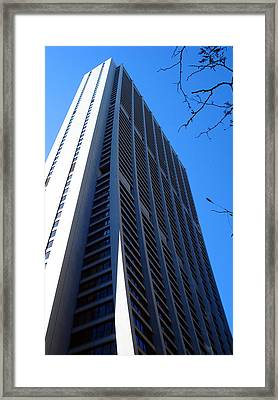 Standing Tall Chicago Framed Print by DB Artist
