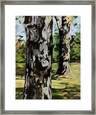 Standing Tall Framed Print
