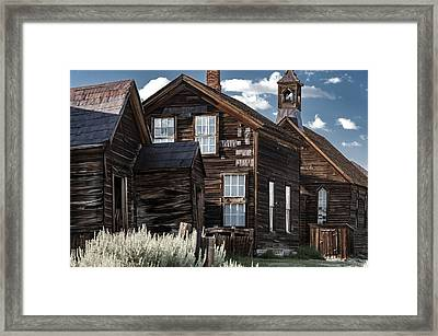 Standing The Test Of Time Framed Print by Cat Connor