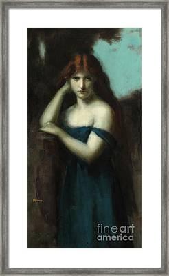 Standing Woman Framed Print