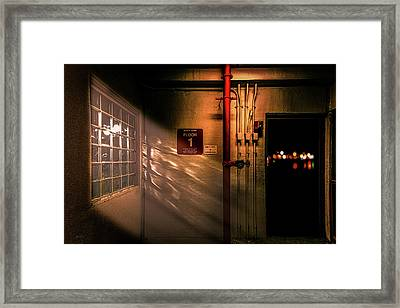Standpipe Framed Print by Bob Orsillo