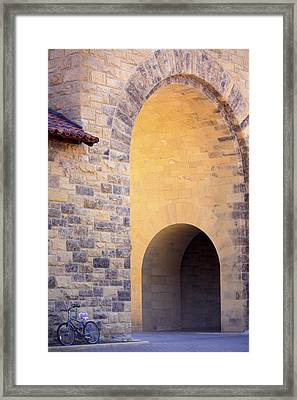 Stanford Arches Framed Print by Linda Dunn