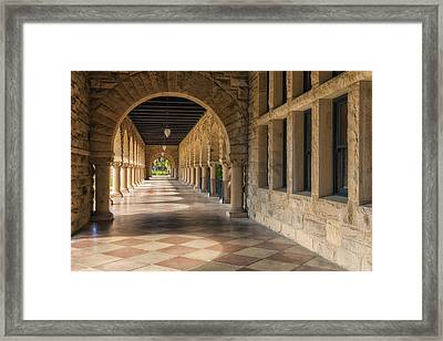 Stanford Hall Framed Print by Jonathan Nguyen