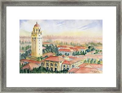 Stanford University California Framed Print by Melly Terpening