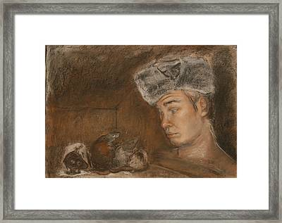 Stanislav And 4 Framed Print by Danielle Wilbert