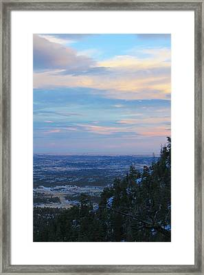 Stanley Canyon Hike Framed Print