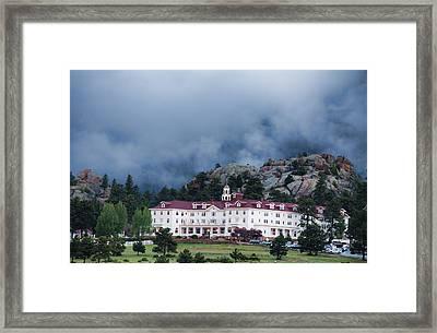 Stanley Hotel At Estes Park Framed Print