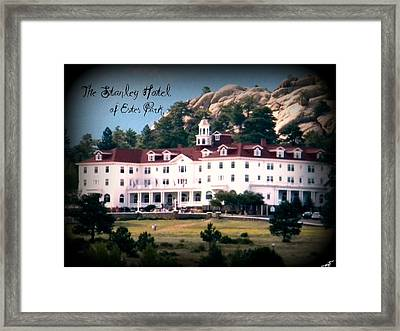 Stanley Hotel Framed Print by Michelle Frizzell-Thompson