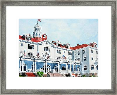 Stanley Hotel Two Framed Print by Tom Riggs