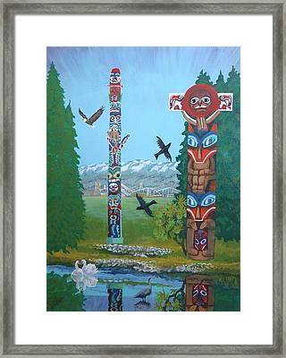 Stanley Park Framed Print by Bob Craig