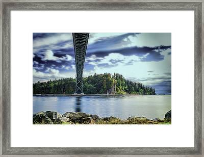 Stanley Park Framed Print by Chris Van Edig