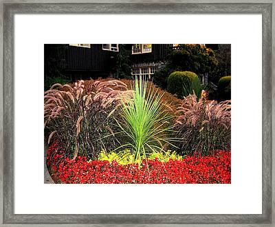 Stanley Park Gardens Framed Print