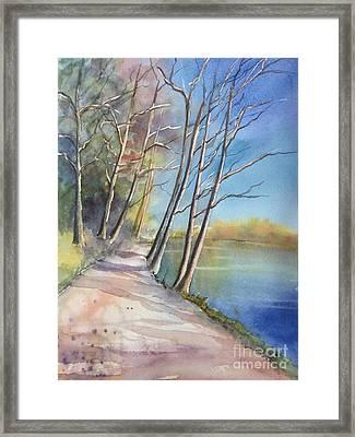 Stanley Park Framed Print by Yohana Knobloch