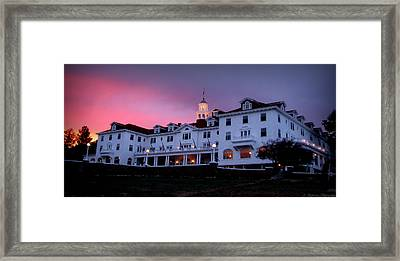 Stanley Sunset Framed Print
