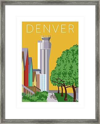 Stapleton Summer Framed Print
