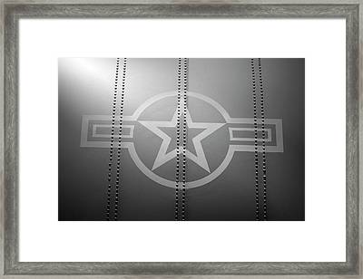 Star And Bars Framed Print by Brandon Griffin