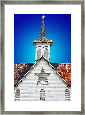 Star Barn 2 Framed Print