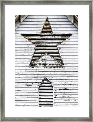 Star Barn Framed Print