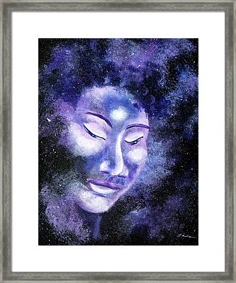 Star Buddha Of Equanimity Framed Print by Laura Iverson