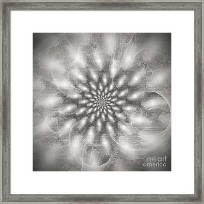 Star Burst Framed Print by Elizabeth McTaggart