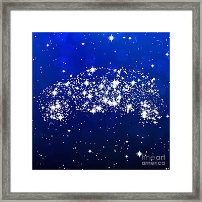 Star Car Framed Print