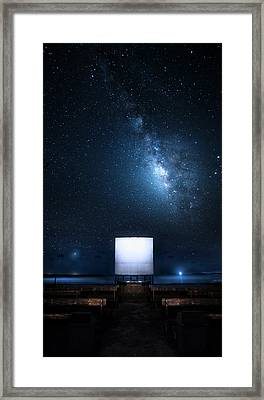 Framed Print featuring the photograph Star Cathedral by Mark Andrew Thomas