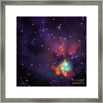 Star Cluster Framed Print by Corey Ford